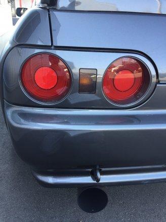 NISSAN スカイライン GT-R の凹みをデントリペアで修理 岩手県一関市