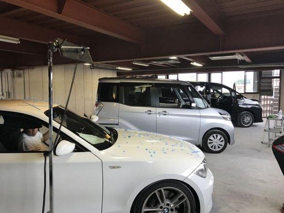 ひょう害車修理集中工場 東京都板橋区にオープン!