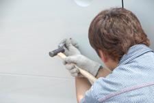 デントリペア修理法・フェンダーのヘコミ(デント)を直す場合