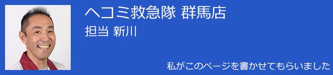 へこみ救急隊 新川
